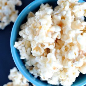 Soft & Chewy Easy Caramel Popcorn Recipe