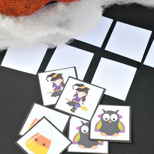 Free Printable Halloween Memory Game