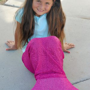 Mermaid Tail Pattern to Sew for Kids