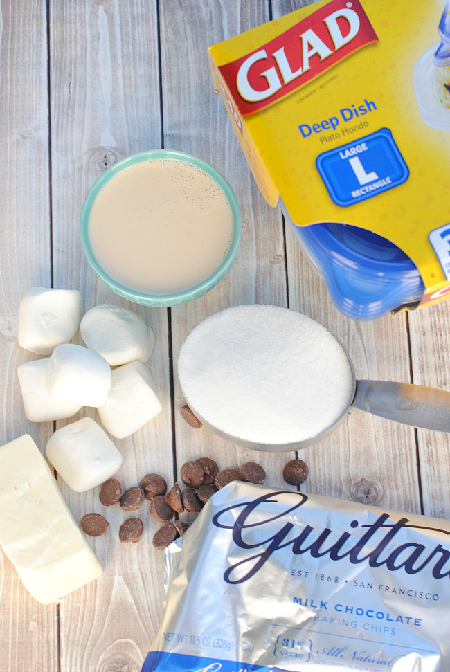 Coconut Fudge Ingredients