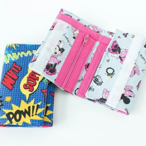 Cute & Simple Kids Wallet Pattern to Sew