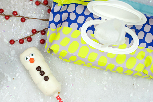 Snowman with Wipes