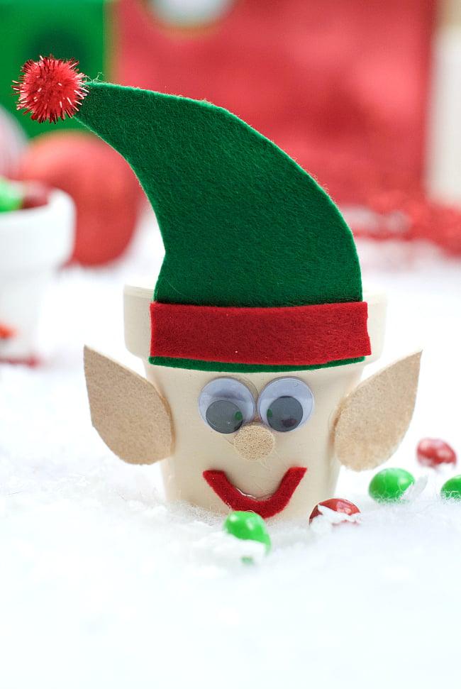 Elf Candy Pot