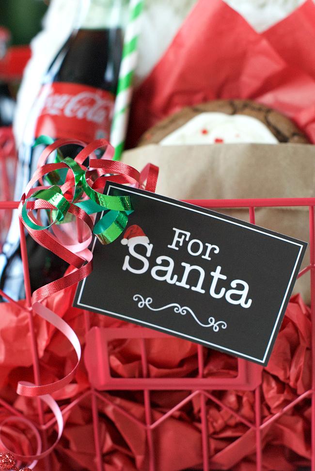 For Santa Tag