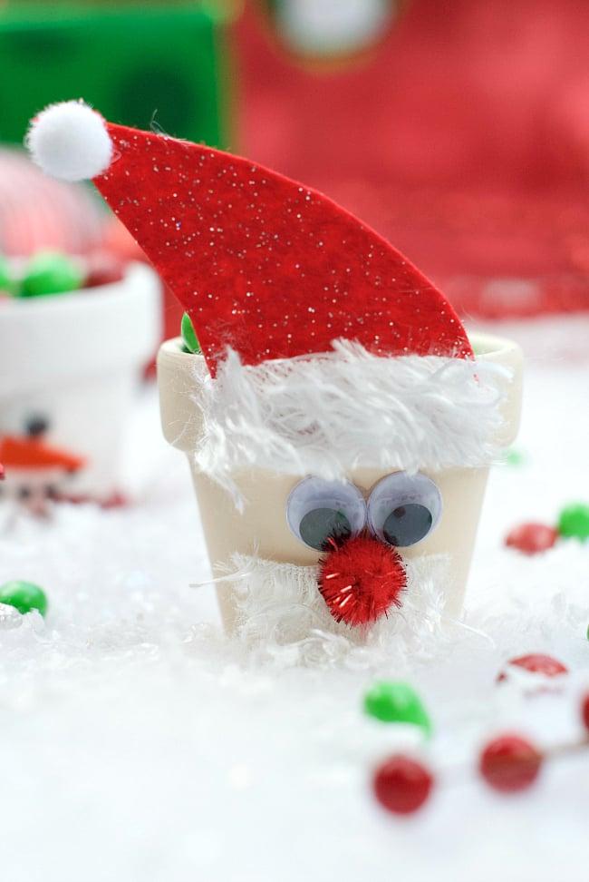 Santa Candy Pot