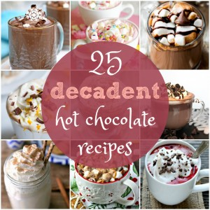 25 Decadent Hot Chocolate Recipes