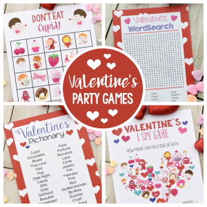 Fun Valentine Games to Print and Play