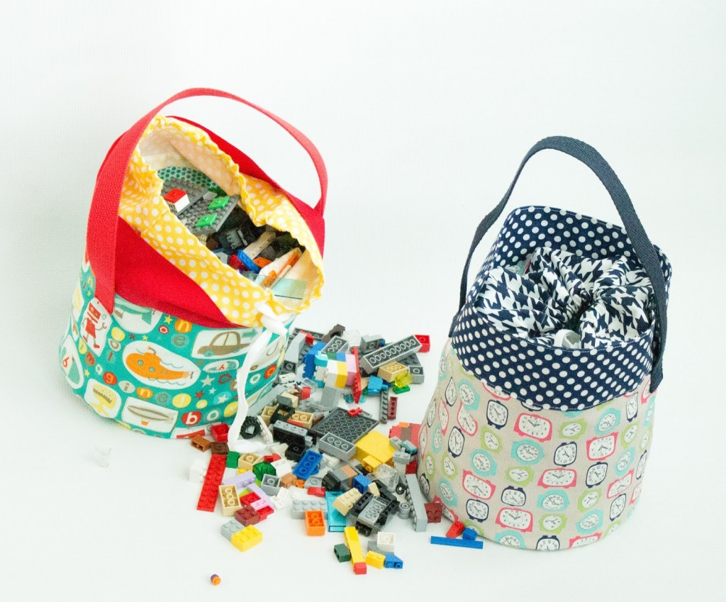 Lego Fabric Basket