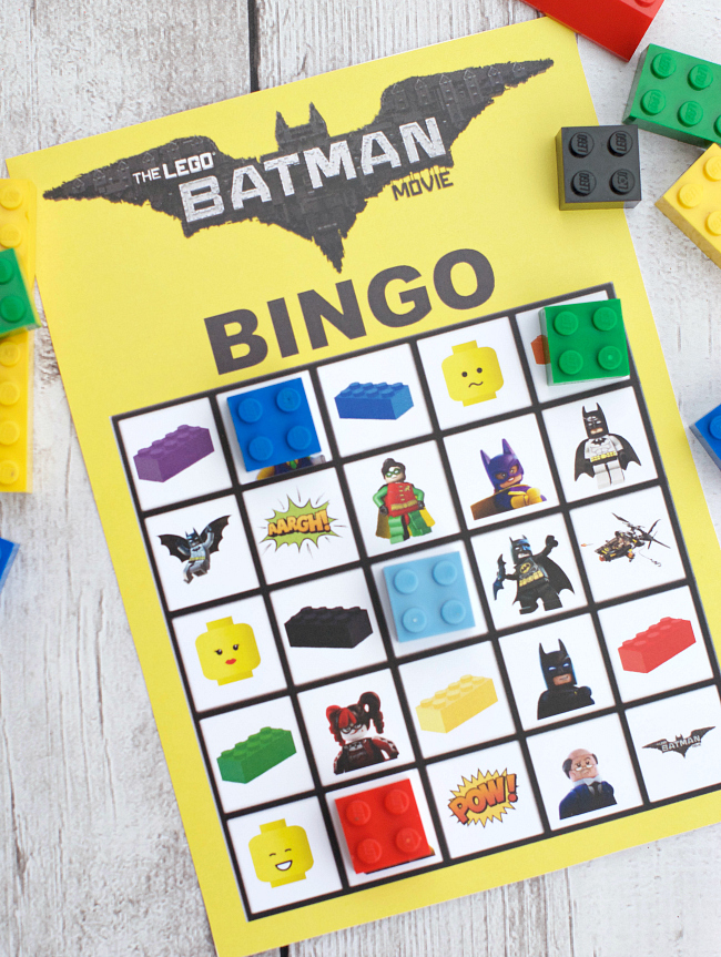 LEGO Batman Bingo Game