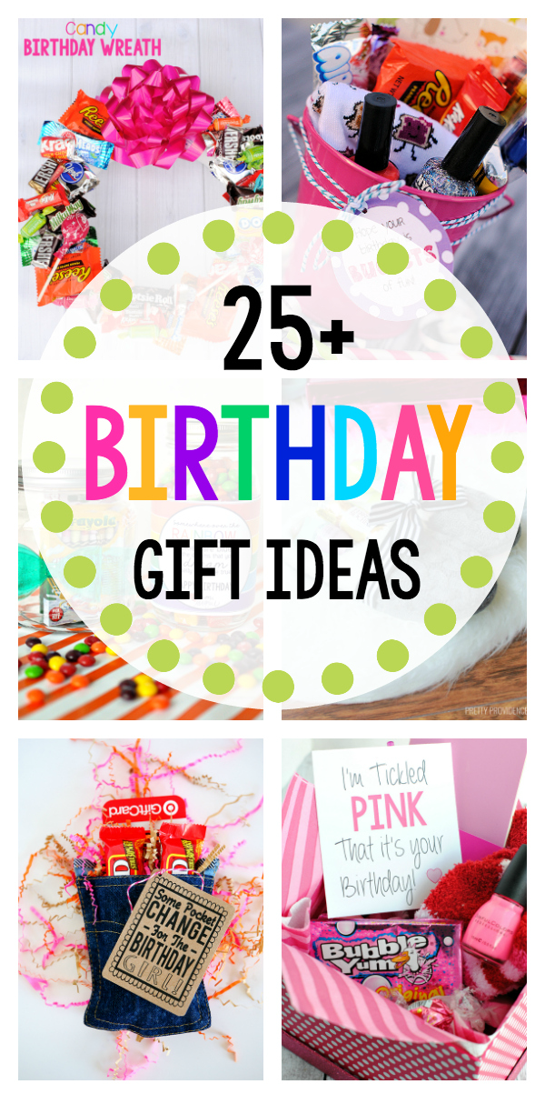 25 Fun Birthday Gifts for Friends-These great birthday gift ideas are perfect for your friends! #birthday #birthdaygift #gifts #giftideas