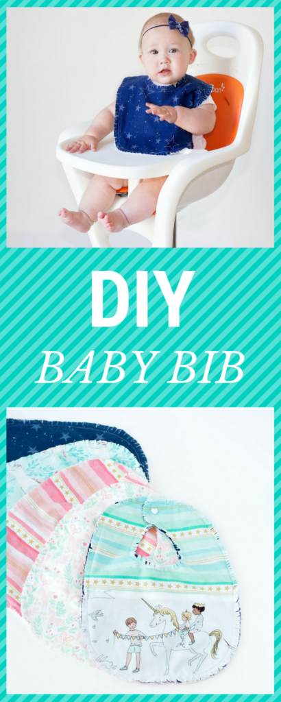 Cute and Easy Baby Bib Pattern to Sew
