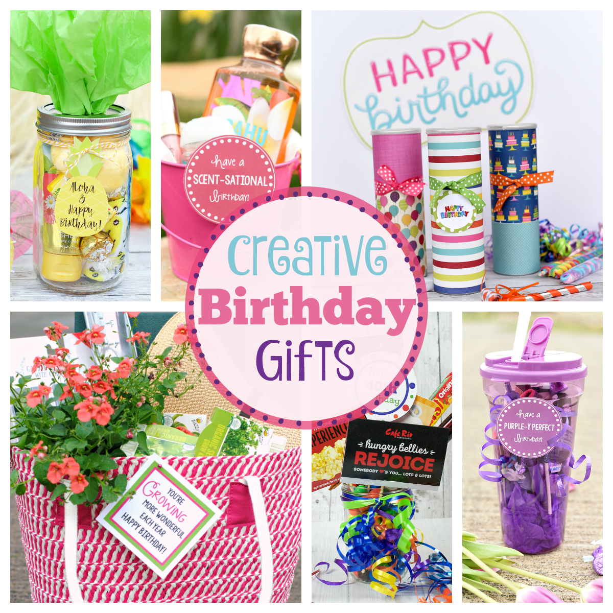 Creative Birthday Gifts For Friends