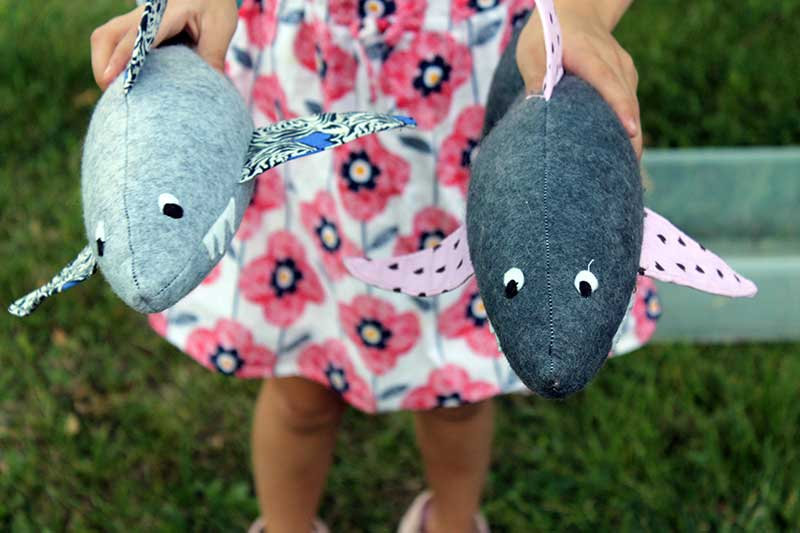 25 free toy patterns to sew for the kids