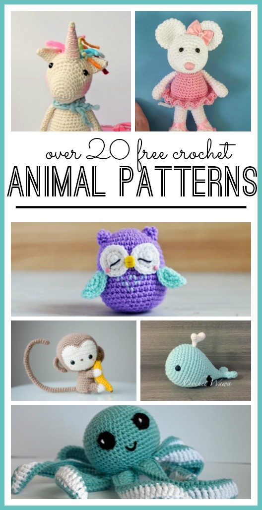 60 Free Toy Patterns To Sew For The Kids Crazy Little Projects Beauteous Stuffed Animal Patterns