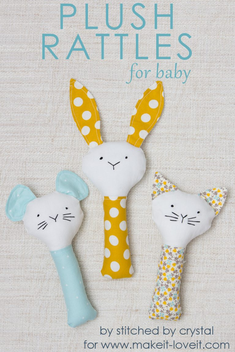 25 Free Toy Patterns to Sew for the Kids - Crazy Little Projects