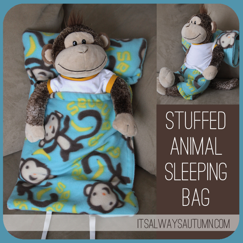 Stuffed Animal Sleeping Bag I Seriously Cant Believe How Many Cute Options There Are Here Want To Sew Them All