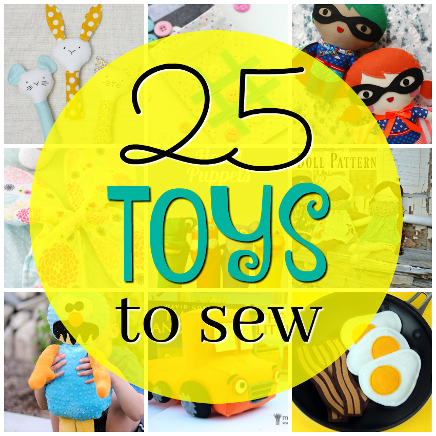 Free Toy Patterns to Sew for the Kids