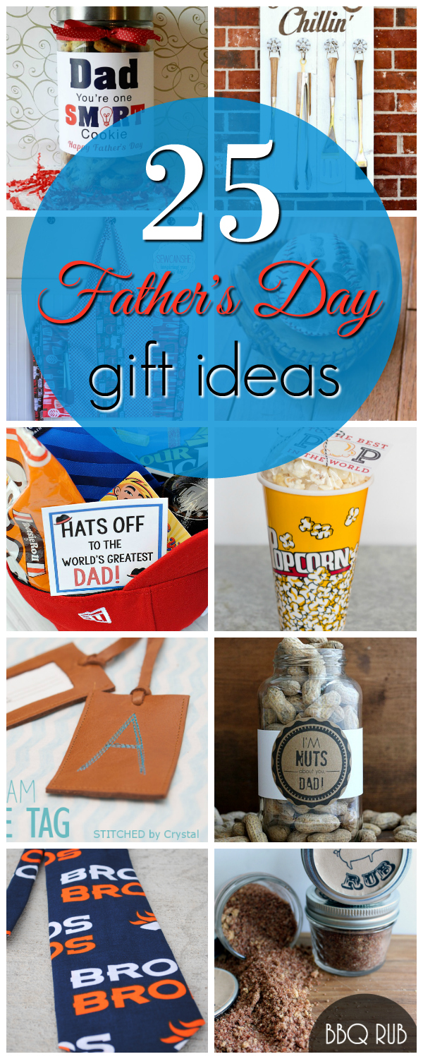 25 Creative Father's Day Gifts-These cute and easy Father's Day gifts will have Dad smiling! #fathersday #giftsfordad #dadgifts