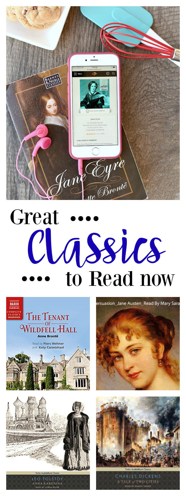 Amber's Bookclub-The Classics - Crazy Little Projects