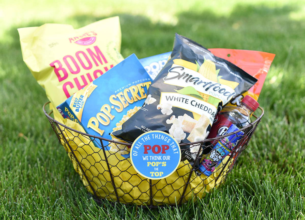 Pop DIY Father's Day Gift Basket