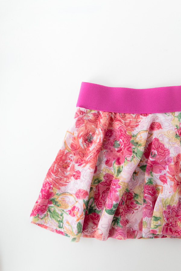 Simple Circle Skirt Pattern to Sew for Girls