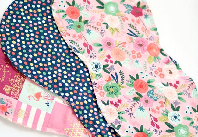 Burp Cloths Sewing Tutorial and Pattern