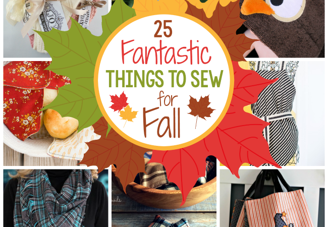 Fall Sewing Ideas