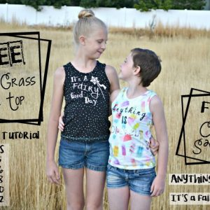 Kid's Tank Top Pattern