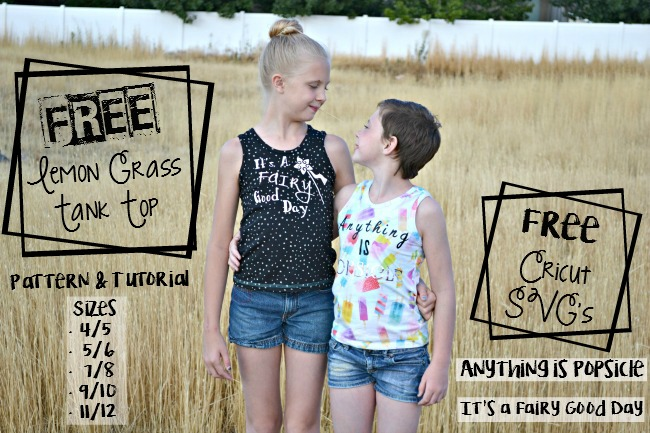 How to make a kids tank top