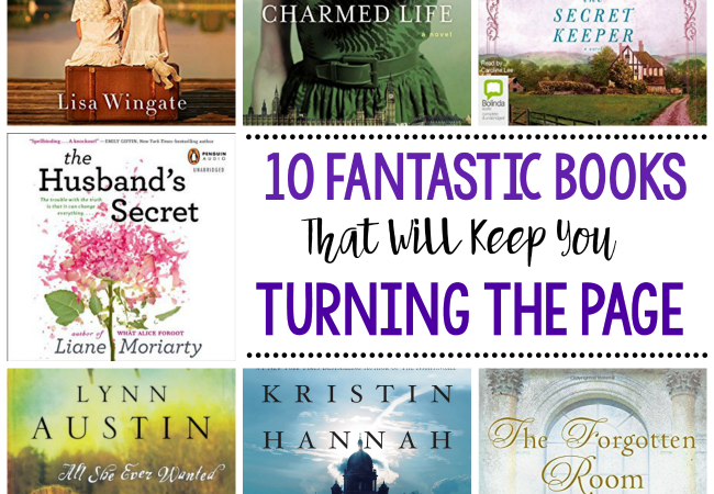 10 Fantastic Books that Will Keep You Turning the Page
