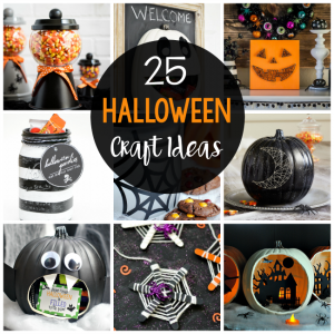 25 Simple and Fun Halloween Craft Ideas