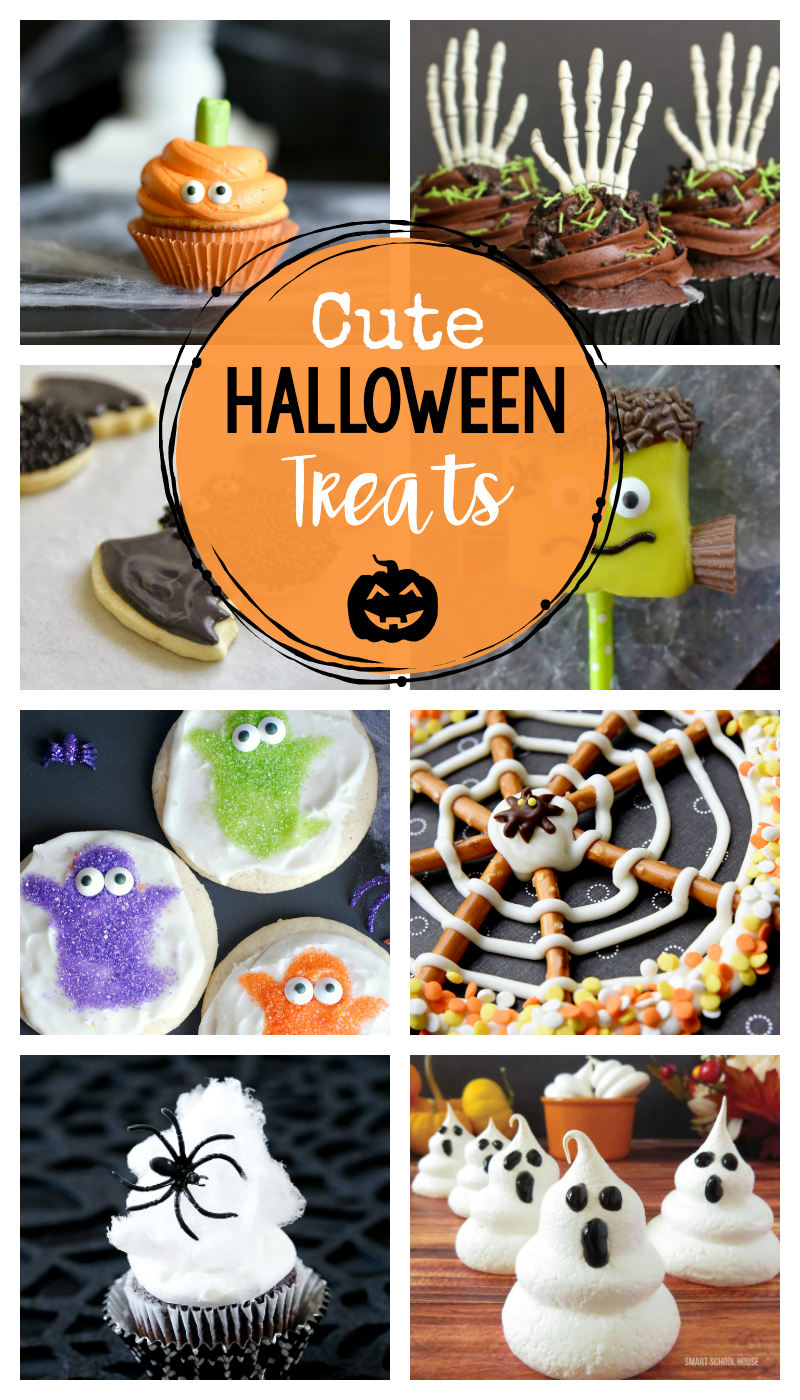 Halloween Treats so cute you won't want to eat them!