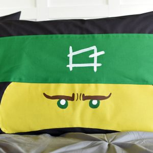 How to Have Happy Boys: LEGO NINJAGO Pillowcase Tutorial