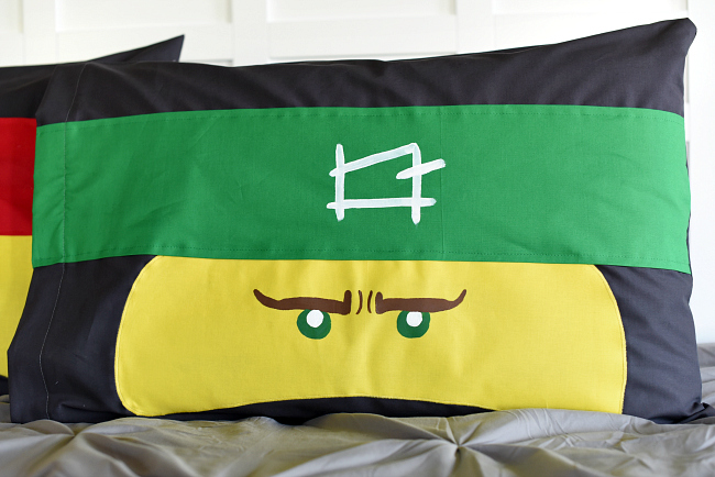 LEGO Ninjago Pillowcase Tutorial