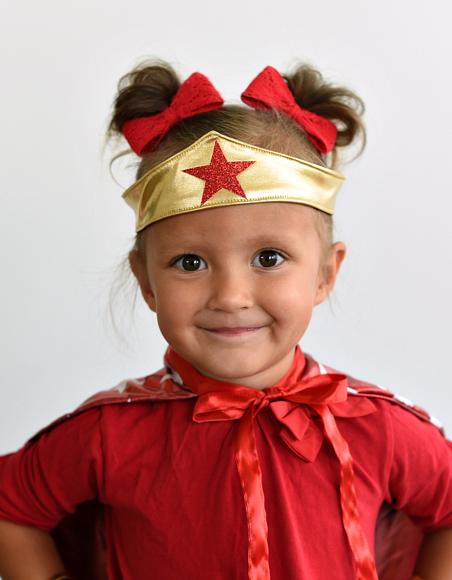How to Make a Wonder Woman Tiara