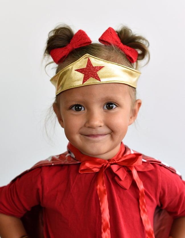 How to Make a Wonder Woman Tiara