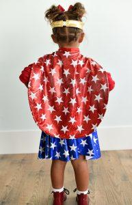 Wonder Woman Cape Pattern