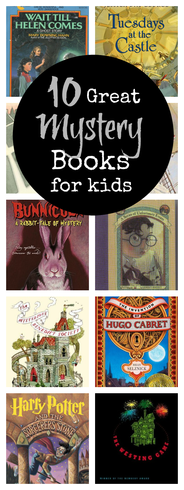 10 Fun Mystery Books for Kids and Teens to Read