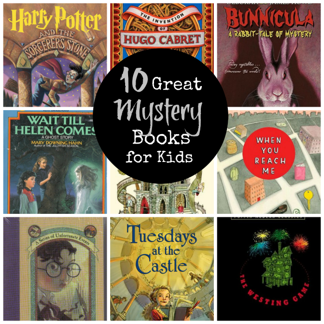 10 Great Mystery Books for Kids