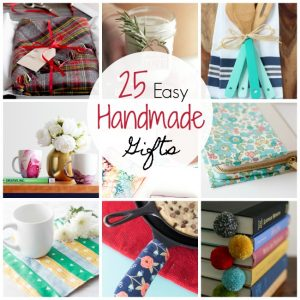 25 Easy Handmade Gift Ideas