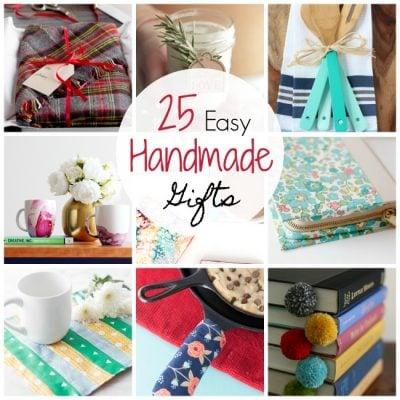 25 Easy Handmade Gift Ideas