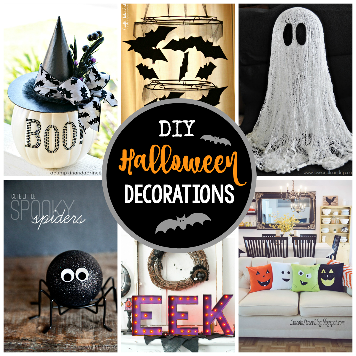 25 diy halloween decorations to make this year - crazy little projects