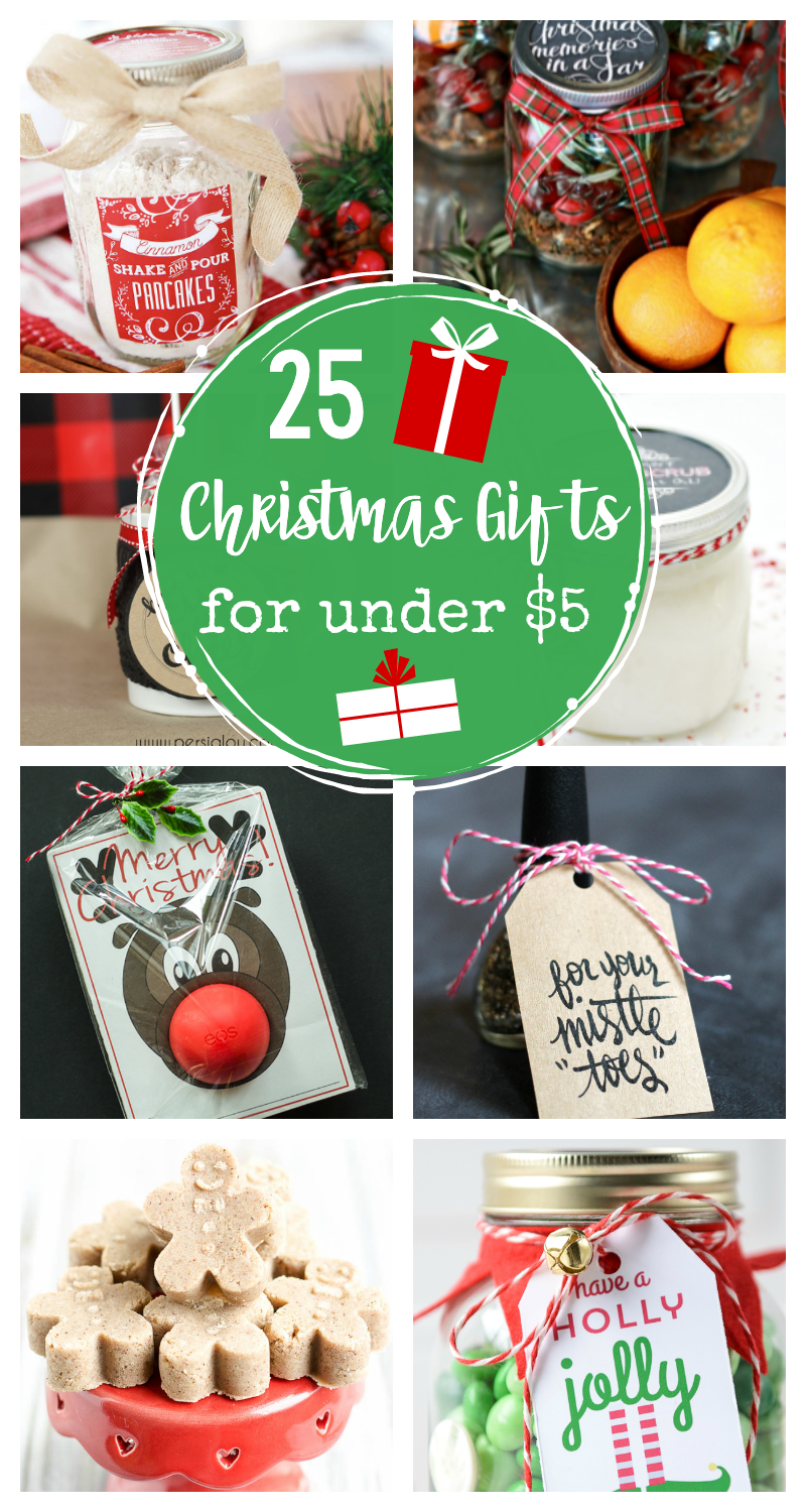 25 Christmas Gifts for Under $5 for Neighbors and Friends