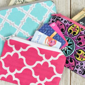 Mini Zipper Pouch Pattern
