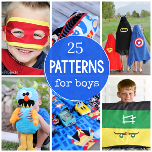 25 Great Sewing Patterns for Boys