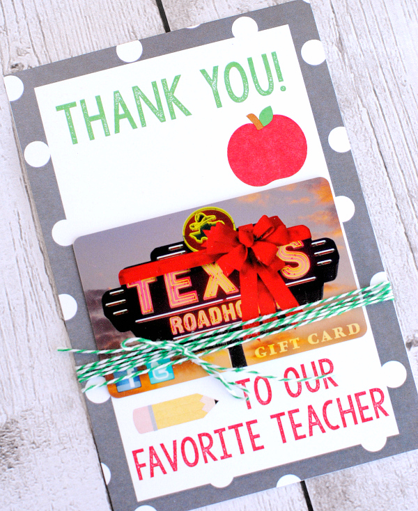 Teacher Thank You Gifts