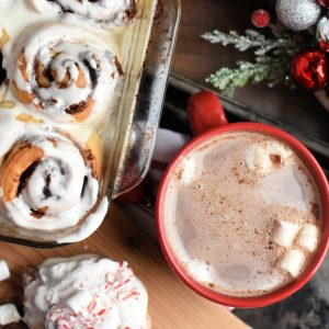 Hot Chocolate Sweet Rolls