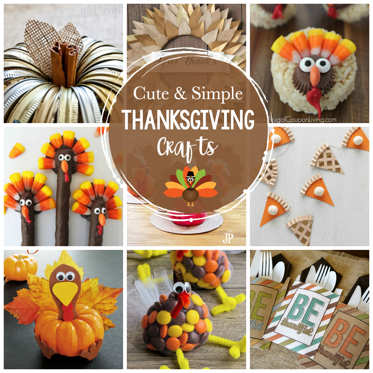 Simple Turkey Crafts