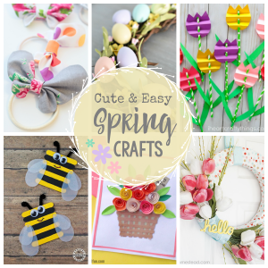 Cute & Easy Spring Crafts to Make