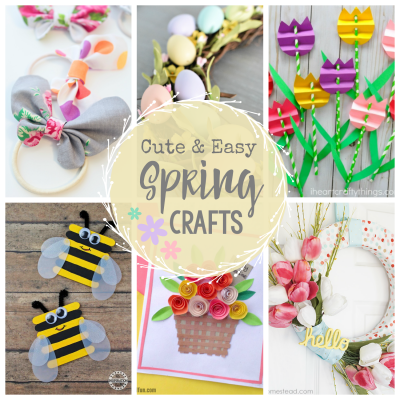 Cute and Easy Spring Craft Ideas